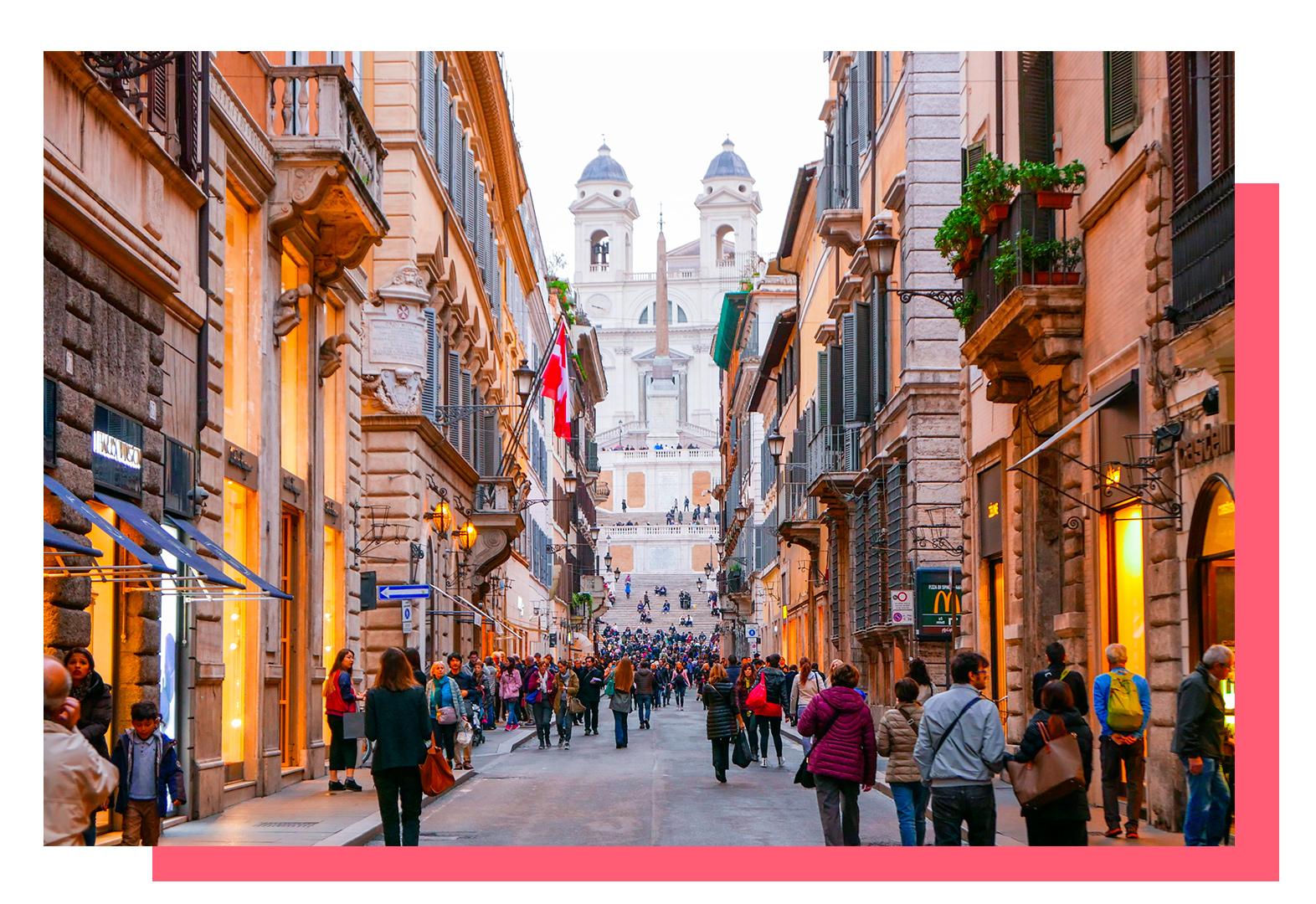 Рим. Италия. Крейзи Лама