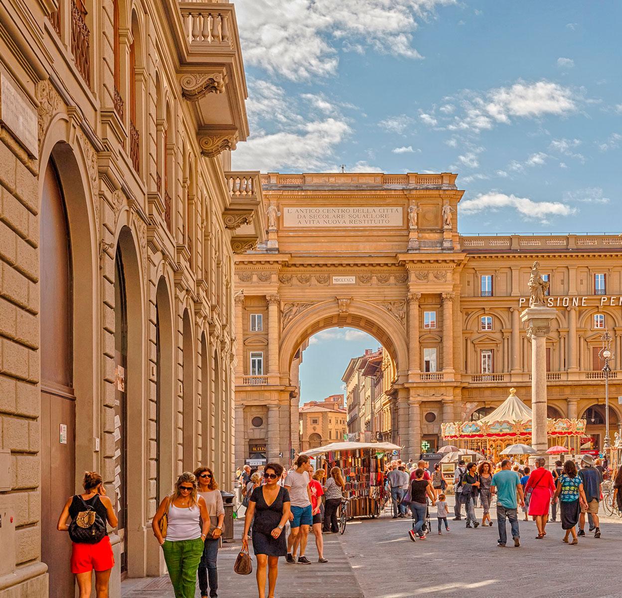 Флоренція. Італія. Крейзі Лама